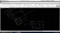 AUTOCAD アイソメ図で角度のついたところ どうすれば描けますか??