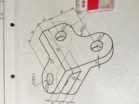 AUTOCAD でアイソメ図のこの等角円を描くには どうすればいいですか?  60度斜めになってます