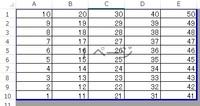 エクセルで並べ替えても数式の結果を同じにしたいのですが、  下のような表があって、例えば数式は  =A2+B8+C4+D5+E10  とすると、結果は126となります。 その後、表全体を昇順で並べ替えると、  上記の数式の結果は129になってしまいます。  それを並べ替えても数字を追って同じ126の結果となるようにする方法はないでしょうか?  単純に数字の足し算をすれ...