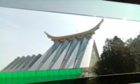 茨城県にこんな建築物がありました。 これはなんですか? 高速道路から見えました。
