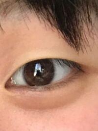 この目って、蒙古襞ない目ですか?