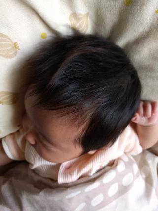 くせ毛 赤ちゃん