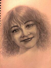 空想画の鉛筆画です。 評価、願います。