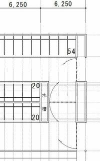 Blender2.78初心者です、JWCADの下絵を基に3Dの建物を作ろうとして行き詰りました。 よろしくお願いします。  1.スケールのアドオンが色々ありますが、よく理解できません。 測って印をつけて、その部分に柱...