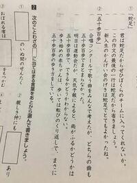 弟の宿題がわかりません。 五十歩百歩の使い方として合っているものを教えてください! お願いします!