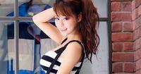 ヤフー広告の神アプリのバナーで見かけるこのモデルさんの名前を教えて下さい。台湾の方ということだけわかっています。