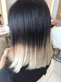 毛先みたいな金髪に染めて、10日ぐらい経って黒染めしたら何日で色抜けてきますか??