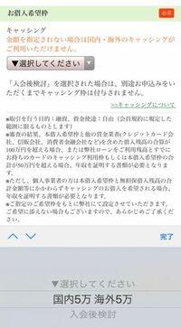 私は今年大学生の未成年の者です。 三井住友VISAデビュープラスカードに申し込もうと思うのですが、写真にあるお借入希望枠とはクレジットカードで買い物する場合、5万円以内でしか買い物できないということです...