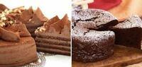チョコレートケーキは、どちらのタイプが好きですか? ①スポンジなどにチョコクリームでコーティング ②クリームなしのどっしりしたチョコケーキ  (ガトーショコラ、ザッハトルテなど)  上記のどちらでもない方は、どんなチョコレートケーキが好きか教えてください!
