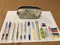 中学生2年生のものです。 筆箱の中身は年齢相応ですか? また、いらないものありますか?