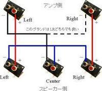 センタースピーカーについてです。 下記の画像の方法で、ステレオアンプにセンタースピーカーを接続したんですが、 なんかネットでは音質が低下するとの話が出ているようなのですが、本当に低下するのでしょうか...