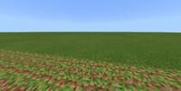 マインクラフトWindows10をやってて移動したら変な土がありました 土の上にツタ?が乗ってる感じのテクスチャです ブロック一覧を見ても載っていません このブロックは何なのか教えてください