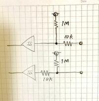 ロジックICの過電圧保護について質問です。 ロジックICに外部からアクティブLowの信号を入力しますが、都合により過電圧保護が必要です(過電圧&ESD対策)。  入力にESDダイオードが入っているので、それを保...
