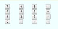 "Javascriptについての質問です。 <ul class=""calc"">  <li><input type=""button"" value=""7"" onclick=""num('7')""></li>  <li><input type=&quot..."