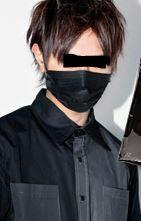 マスク ださい 黒