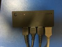 HDMI切替器を買いましたが、ゲーム機の画像が映らないです。 切替器の品番はエレコムのDH-SWL4CBKです。 テレビはシャープのLC-32H11です。 任天堂スイッチとPS4を接続しても、 画面の切替 は行われますが、...