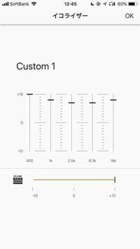 このkの範囲でイコライザを重低音重視にしたいならどのようにすればいいですか?