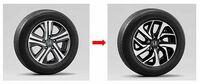 ステップワゴンスパーダ・ハイブリッドの購入検討中です ステップワゴンスパーダ・ハイブリッドにステップワゴンスパーダ・ホンダセンシングのホイールは装着可能ですか? ハイブリッドのホイールデザインが好き...