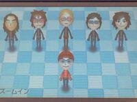 3DSでX JAPANのMiiを作ってみました 改善点教えてください。 左から PATA SUGIZO YOSHIKI Toshl HEATH 前がHIDEです。 TAIJIは作り中です。