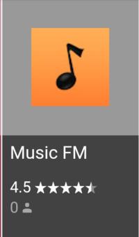 ミュージックFMが急に使えなくなりました。アンインストールして、もう一度インストールしようと思ったのですが、 インストールできません。 これって私だけですか??