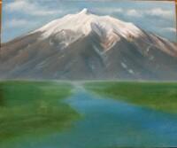 風景画を描くとき実際にある風景をそのまま描くのではなく撮っておいた写真やスケッチを参考にしながら物の配置を考えながら描くということもあるのでしょうか。 山をメインにした風景を描きたいのですが、山を大...
