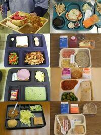 これらはアメリカの刑務所の食事です。 皆さんはこれらの食事についてどう思いますか??