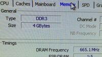 Windows7デスクトップに増設の4GBメモリを買って使いたいのですが、どの規格のものを買えばいいでしょうか? (DDR3、665.1MHz)下の写真にも参照 できるだけ早くお願いします。 追加の情報が必要でしたらそこも回...
