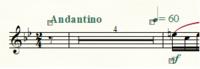 Finale25を使って楽譜を書いています。  PC環境はWindows10です。 長休符を作成した時、妙に休符小節数の数字が小さいので、これを編集したいのですが、 マニュアルを見たり、  ・長休符の設定(ファイル別...
