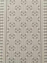 編み物、棒編みについてですが写真の図の読み方が分かりません。だだの右上交差と左上交差をするだけですか?小さい横線は何を意味していますか?
