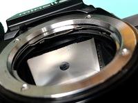 フィルムカメラMINOLTA x-7のレンズを外してみえるファインダースクリーン??に傷や汚れがあるのですが撮った写真に影響はありませんよね?