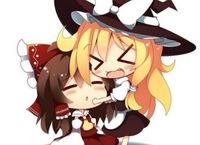 霊夢、魔理沙、咲夜、フラン、大妖精、美鈴、妹紅 ↑ この中で、誰が一番好きですか? 私は魔理沙です!!
