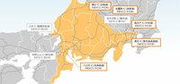 NEXCO中日本のエリアに東名高速道路・中央自動車道全線は含めるべきではなかったのでは? 前者は東京IC〜御殿場IC間、後者は高井戸IC〜甲府昭和IC間・大月JCT〜河口湖IC間を「NEXCO東日本」にすべきだったのでは?