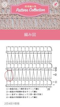 かぎ針編みの編み図記号について質問です。 画像の赤丸の記号はどのように編むのでしょうか。よろしくお願いします。