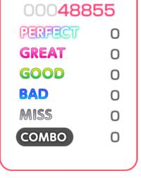 バンドリ!(ガルパ)の協力プレイをしました。この方はミスもコンボもゼロなのになぜスコアがたまっているのですか?