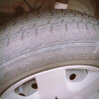 ユーザー車検を受けようと思うのですが タイヤの溝で不合格になりますか?