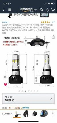LEDヘッドライトです。 これ純正マグナ50 につけれますか?