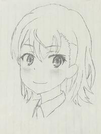 まだ途中ですが御坂美琴描いてみました。顔全体のバランスや目のバランスはどうでしょうか?