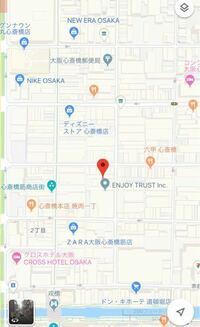 大阪心斎橋の ZARA GU ドンキホーテ あたりに行くのに心斎橋駅から何番出口が近いですか?