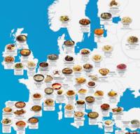 ドイツやイギリスの郷土料理と言ったら、何がありますか? (;゜0゜) 昨日、ショッピングセンターで買い物してたら、 フランスの郷土料理である「ガレット」を売っていた移動販売車がありました。  凄く美味しくて、フランス料理にもこんなのがあるんだなぁと思いました。笑  そこでちょっ気になったんですけど、 ドイツやイギリスなどのゲルマン系の国は、 どういう郷土料理があるのでしょうか? (゜_゜;)