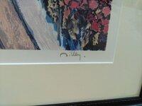 絵画の右下に書かれた作者のサインですが、どなたのサインかわかる方いらっしゃいましたら、お教え願います。