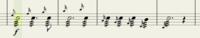 弦楽器(ヴァイオリン、ヴィオラ、チェロ、コントラバス)をトレモロで、強い音を出すのは難しいでしょうか? 長い音符のトレモロでないなら、演奏することはそんなに難しくないでしょうか? 楽譜はヴァイオリン...