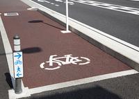 自転車レーンの標示がある歩道を歩行者が歩っていたら、警察に通報していいでしょうか?