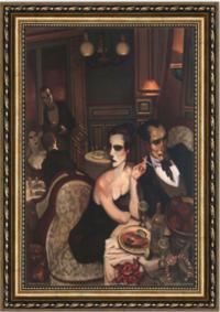 映画《アメリ》で、アメリ寝室の壁の両側にある絵画は、これですか? https://www.youtube.com/watch?v=JmlRKVcfMKE  画家 「ファレス・マチャド」の作品。  http://www.pret-a-voyager.com/2009/11/the-amelie-proj...