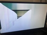 テレビの画面が真っ白になって治し方詳しい方いませんか おんせいはきこえます