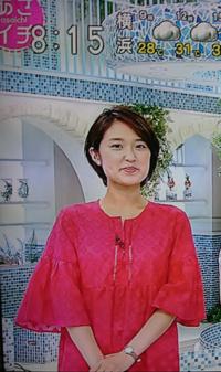 あさイチに復帰の近江友里恵アナ 夏バテの視聴者に元気パワーをくれましたか。