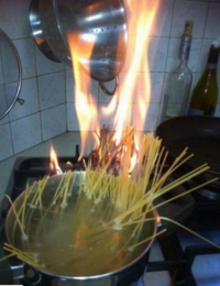 たまーに料理作るんだけど、待つのが嫌で結構強火で調理しちゃうんだけどこうならないためにはどうしたらいいか教えて下さい!