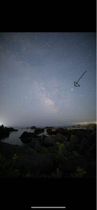 7月21日に撮影した天の川なのですが写っている一番明るい星はアンタレスですか?それとも木星ですか?