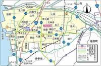 愛媛県伊予郡松前町と北海道松前郡松前町の関係を教えて下さい。 注. 愛媛県:マサキチョウ 北海道:マツマエチョウ
