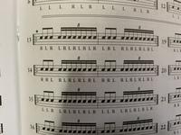 このドラムの楽譜なのですが最初の1拍目で3連符.2拍目で8連符?8回叩きまた3連符、8連符でよろしいのでしょうか?楽譜から見て16分音符の8連符で合ってますか?