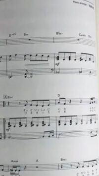 弾き語りの楽譜で教えて下さい。 ピアノ初心者です。  弾き語りなので真ん中と一番下を弾くのですよね?  一番上のメロディーラインは何の為にあるのですか?  一番上と真ん中を使ってピアノソロとしても演奏出来...
